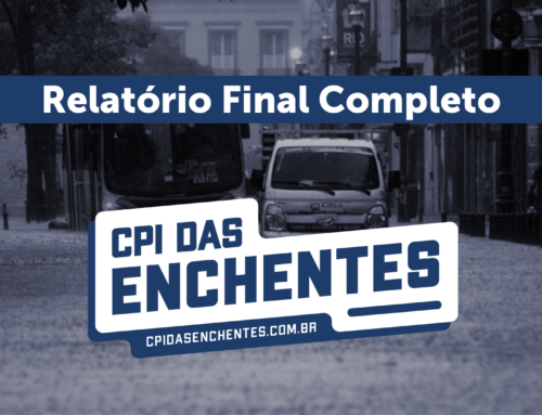 CPI das Enchentes – relatório final completo para download